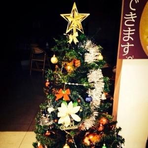三原店もクリスマス装飾