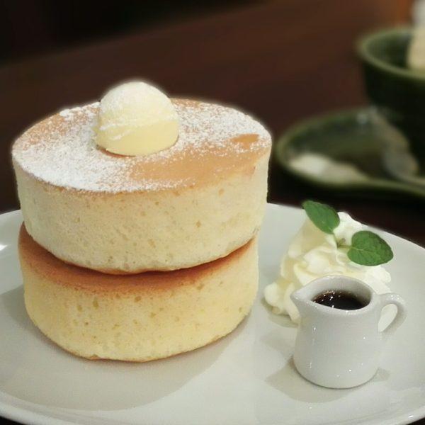 厚焼きスフレホットケーキ プレーン