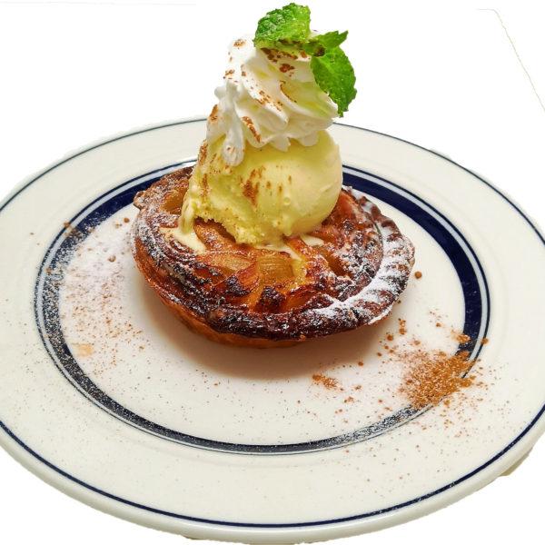 焼き立て 幸せのアップルパイ アラモード